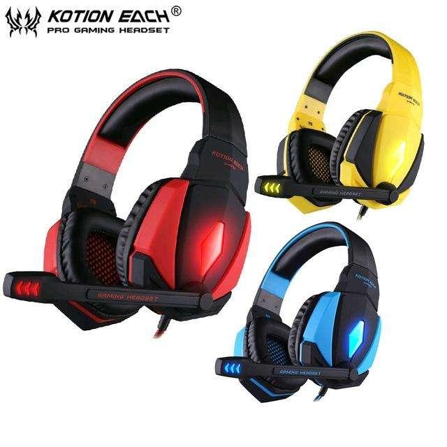 Auricular Gamer Kotion Each G4000 Usb Audio Microfono