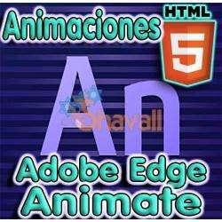 sku534 VIDEO CURSO ANIMACIONES HTML ADOBE EDGE ANIMATE TUTORIAL ESPAÑOL