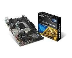 Motherboard Msi S1151 H110m Pro-vh Plus Box M