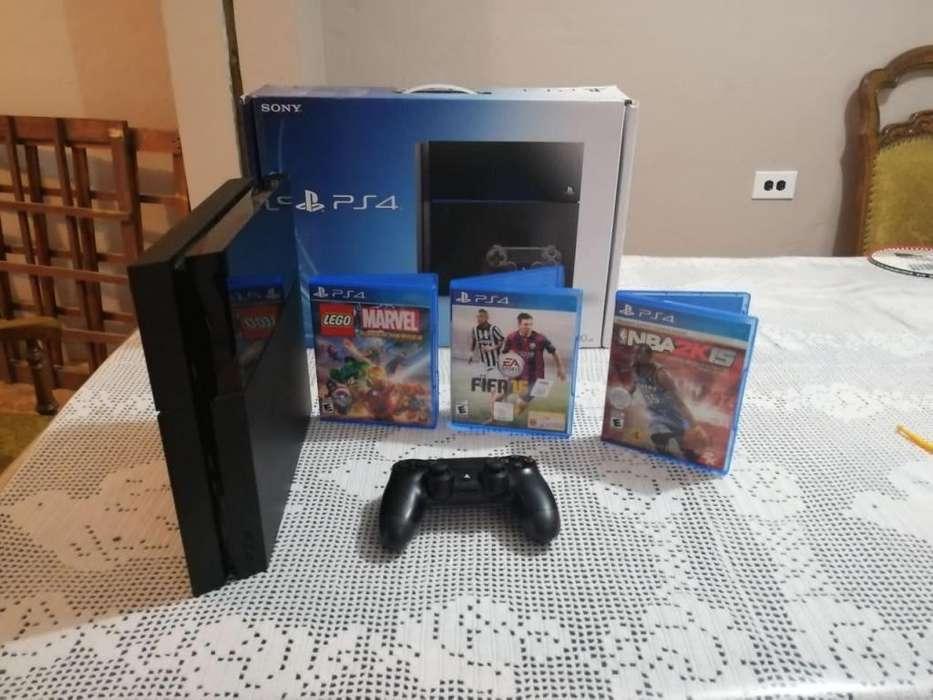 <strong>playstation</strong> PLAY 4 PS4 500GB CON 3 JUEGOS