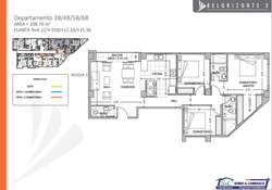 Venta departamento7B sector Ponceano/ Condado/ Norte de Quito