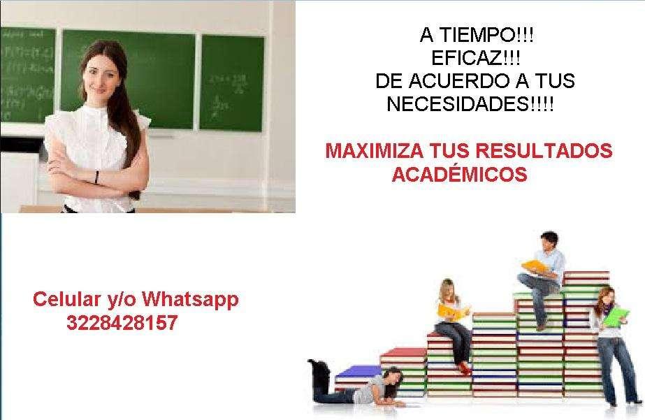 Clases todo apoyo MatemáticasCalculoAlgebra LinealEstadistica Probabilidad Universidad