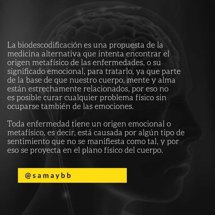 Biodescodificación Y E. Del Árbol Gen.