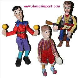 Venta y fabricación de Marionetas profesionales!