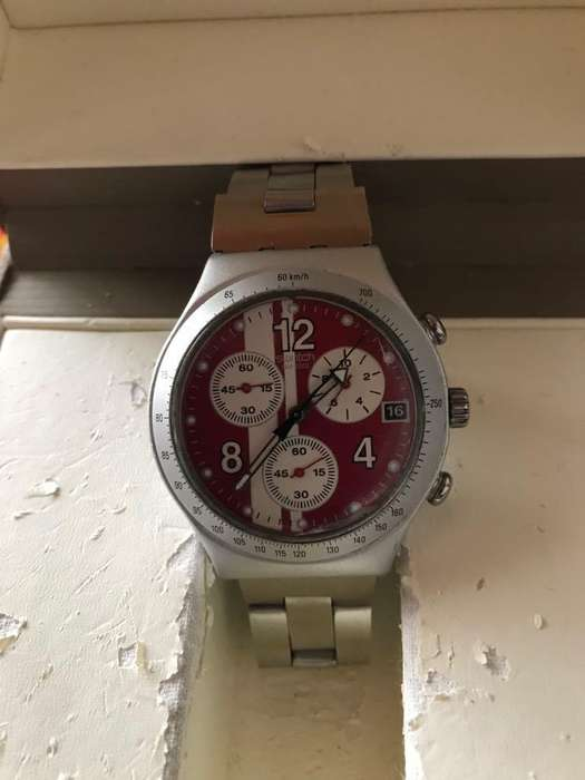 vencambio reloj swatch cronografo original suizo