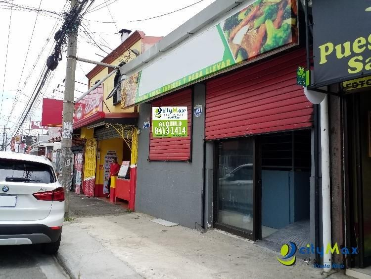 Local en Alquiler, San Francisco Heredia, Cerca Oxigeno  PML-009-08-19