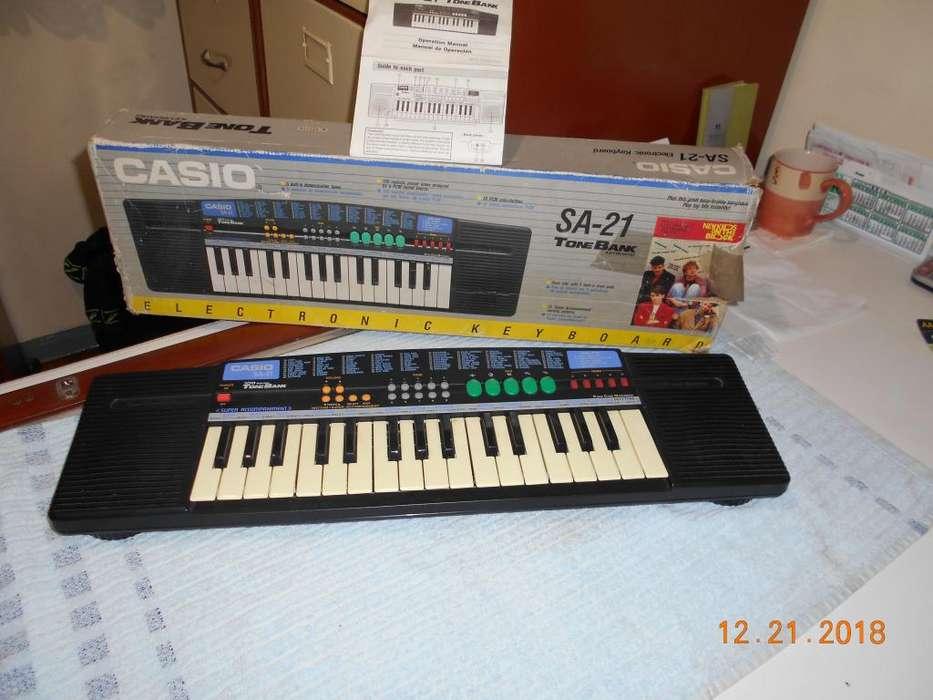 Organo electronico Casio SA 21