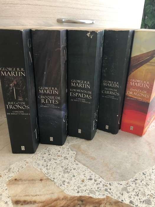 Vendo Libros de Juego de Tronos