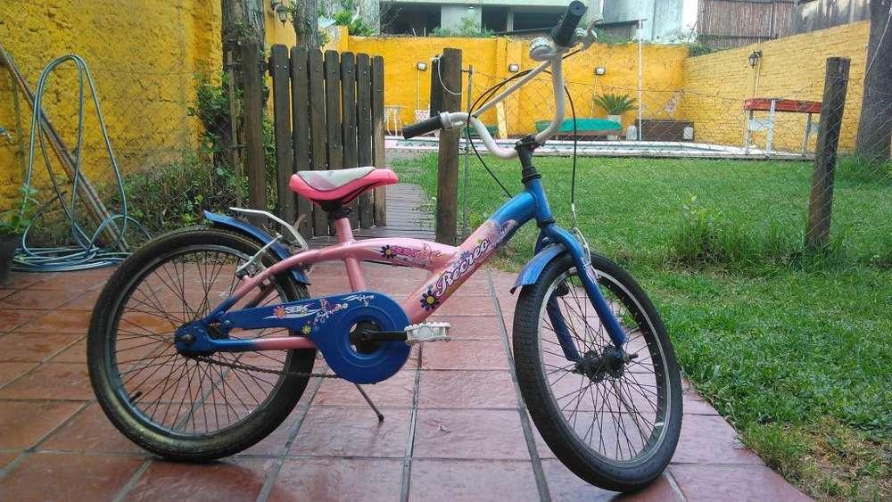 Bicicleta rodado 20 sbk
