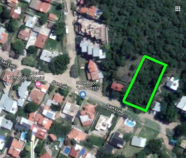 LIQUIDO terreno en VILLA CARLOS PAZ barrio las Malvinas con proyecto aprobado y aforado p/6 dptos