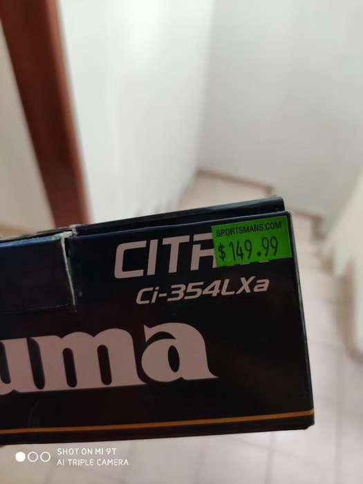 Carrete Okuma Citrix 354