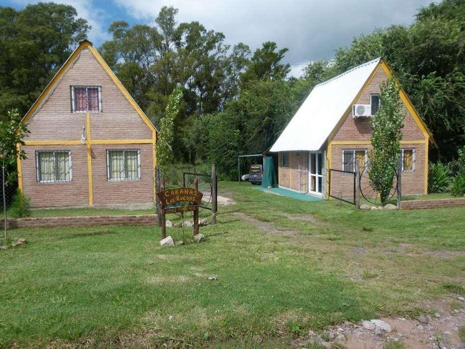 ks11 - Cabaña para 2 a 6 personas con cochera en Villa Del Dique