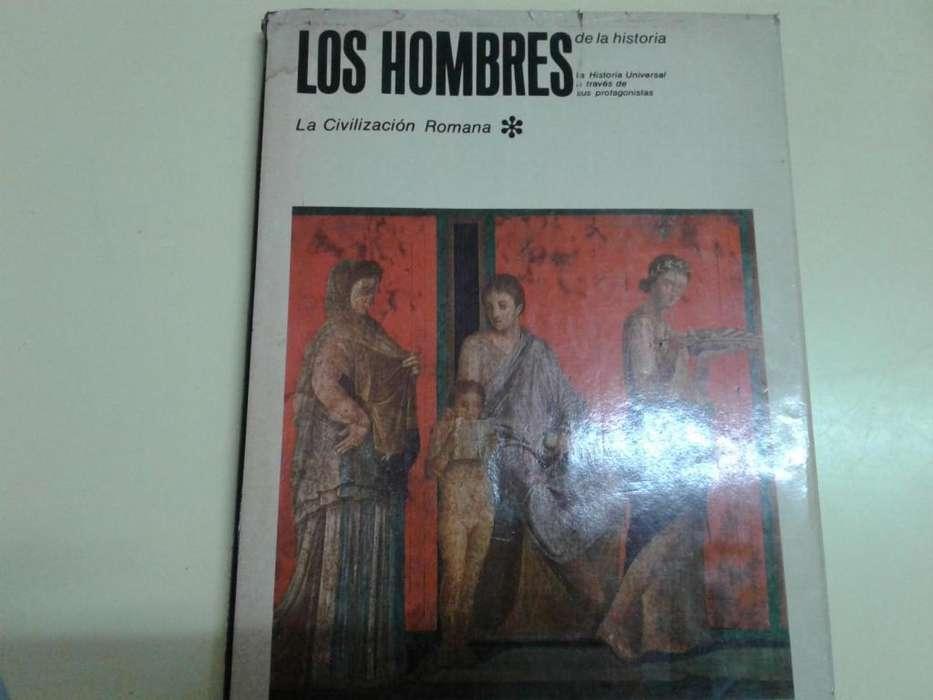 LOS HOMBRES DE LA HISTORIA CIVILIZACION ROMANA