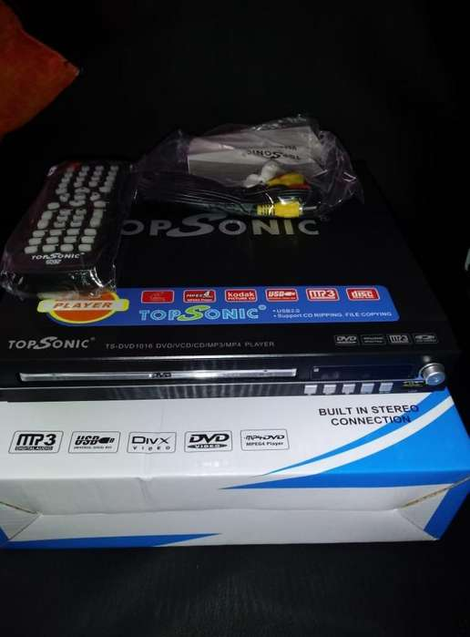 DVD TOP SONIC CON LECTOR USB