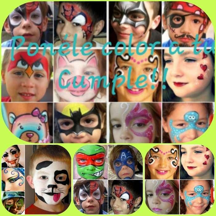 Ponele Color, Maquillaje Artístico