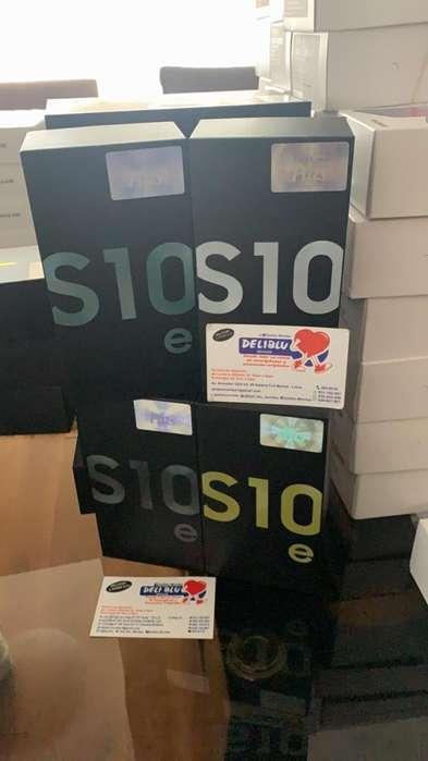 SAMSUNG S10e dual sim LIBRE DE FABRICA colores 128GB/6GB SOMOS DELIBLU MOVILES tienda física 931192957/934145901
