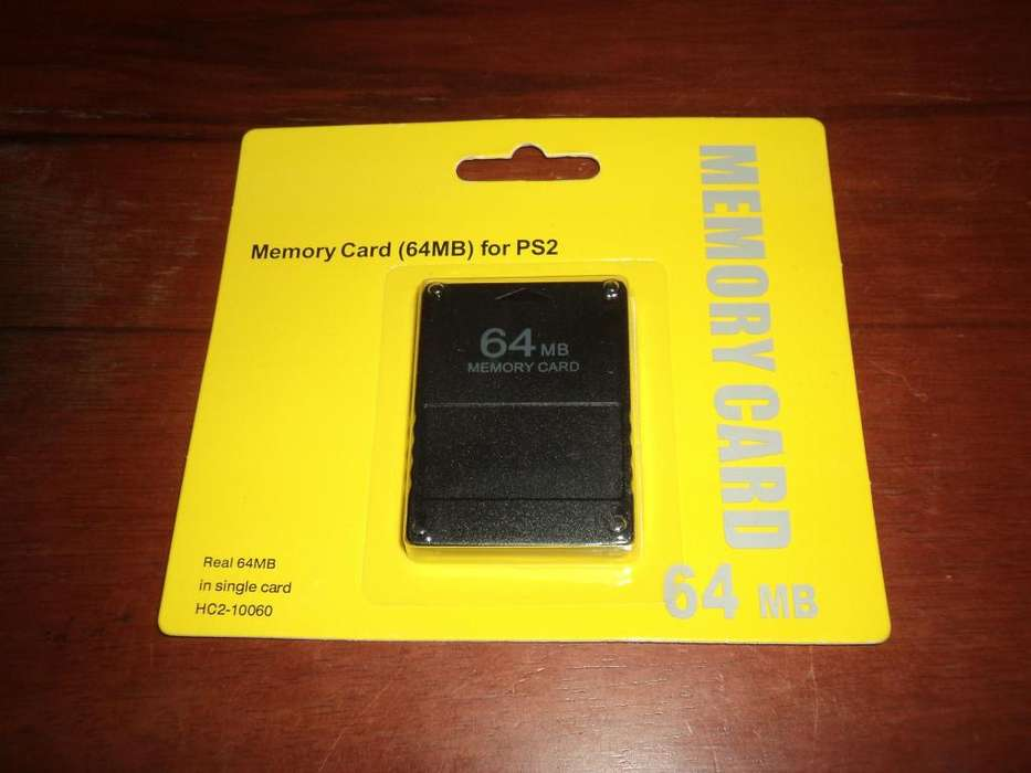 Memory Card 64 Mb Memoria Ps2 Play Station 2