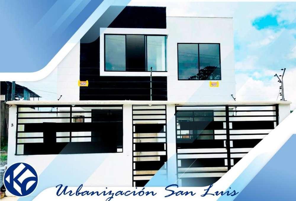 casa-venta-conjunto san luis- by pass chone-quito
