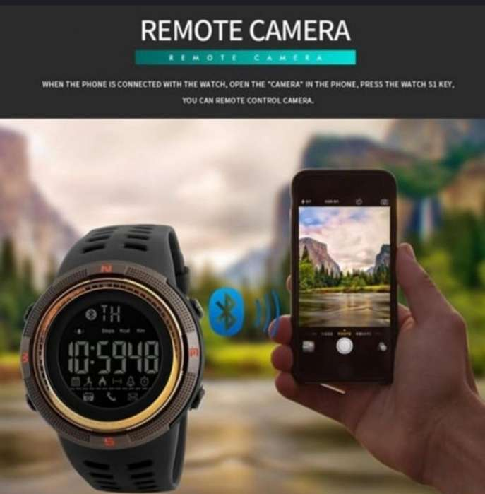 Reloj digital sport con bluetooth