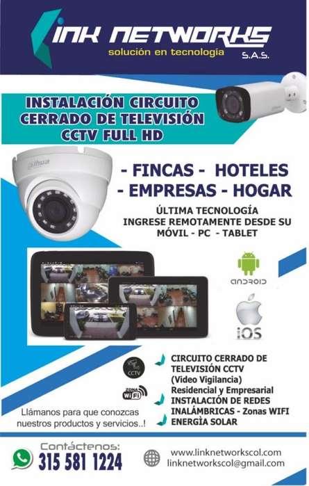 CCTV - Circuito Cerrado de Televisión - Camaras de Seguridad - Videovigilancia