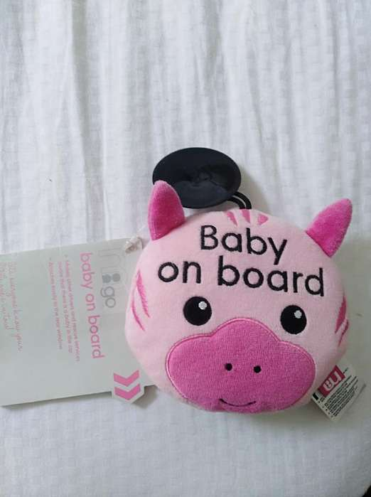 Muñeco Baby On Board /mother Care