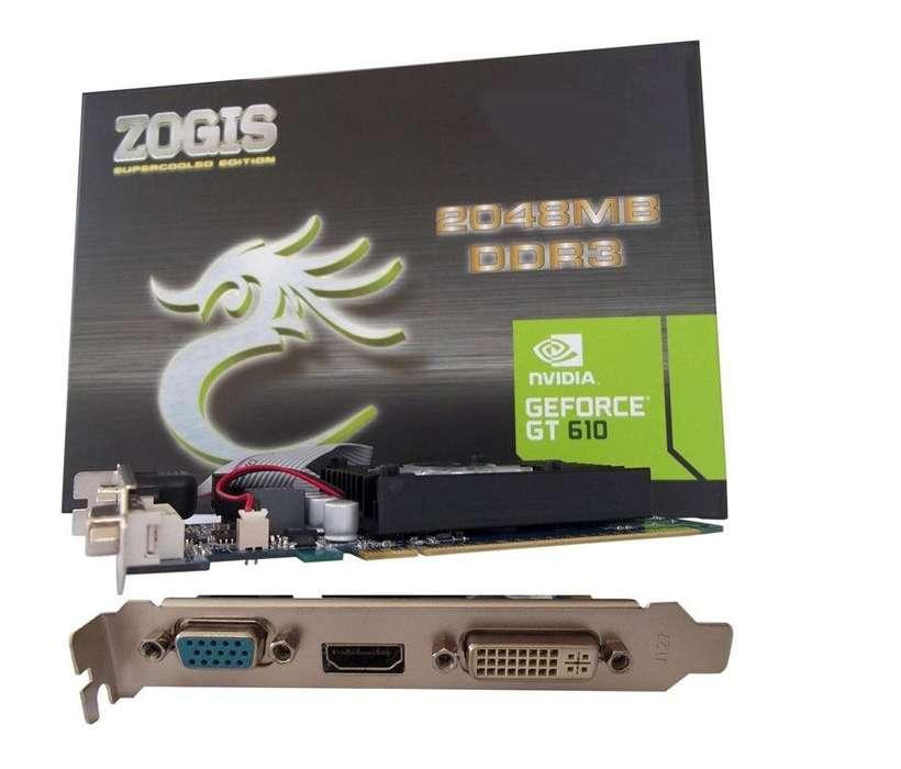 Tarjeta Video 2Gb Geforce Nvidia Gt610