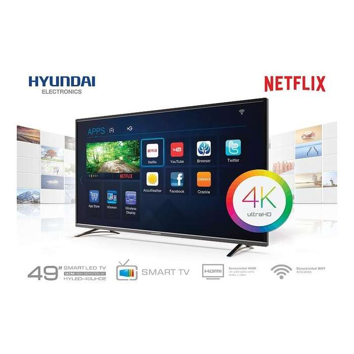 Smart Tv Hyundai Ultra Hd 4k 49