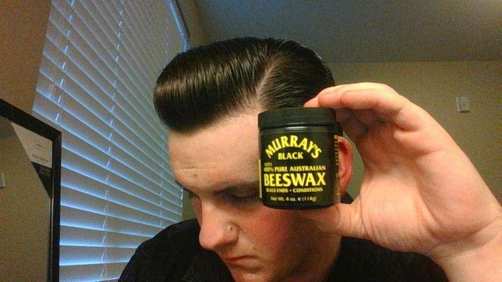 Murrays Black Beeswax Cera Americana Para Barba//cabello 4oz