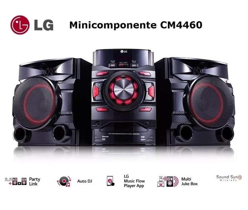 Minicomponente LG Cm4460, 460w, Bluetooth, Usbx2, Lg App