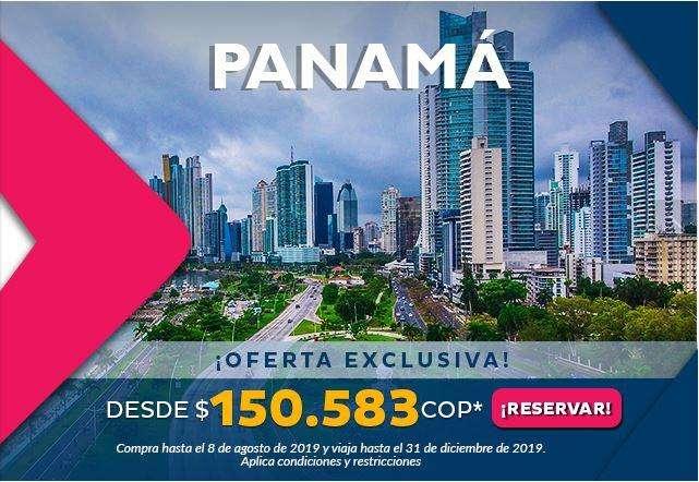 Panamá promocion reserva ya!!!! info 3117530507
