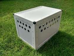 Caniles de Aluminio 0.40x0.40x0.60