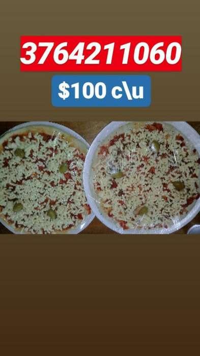 Pizzas Muzzarella Caseras