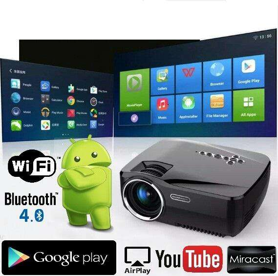 Proyector Android Wifi Bluethoo Hd