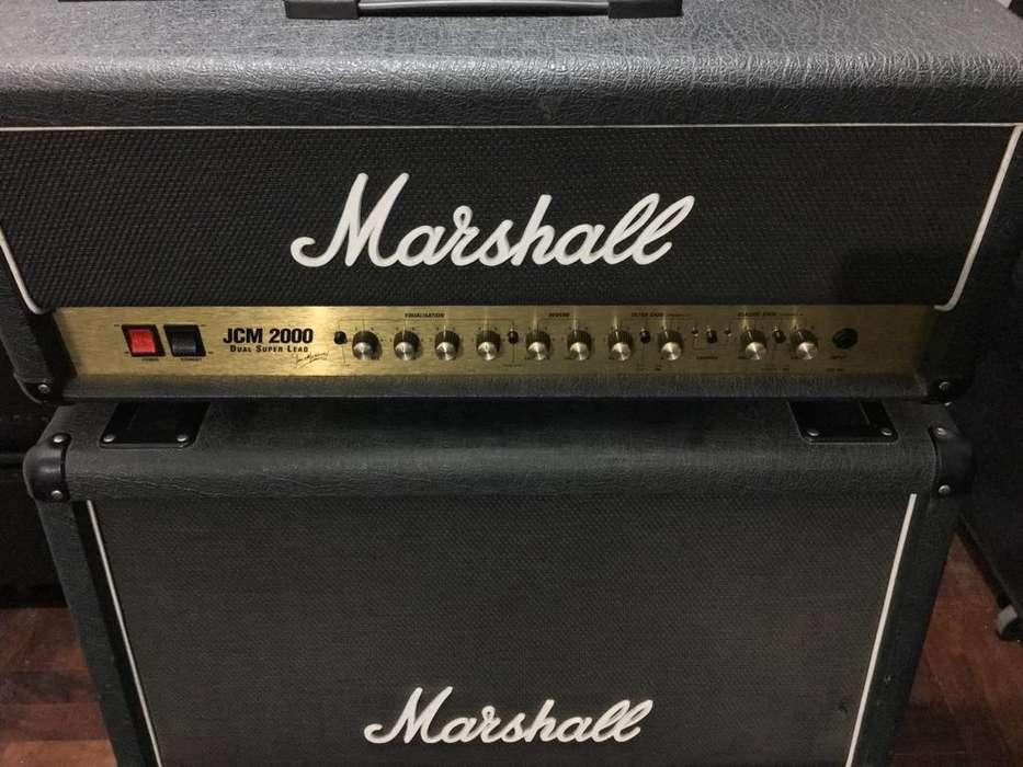 Amplificador Marshall Jcm 2000 Dsl