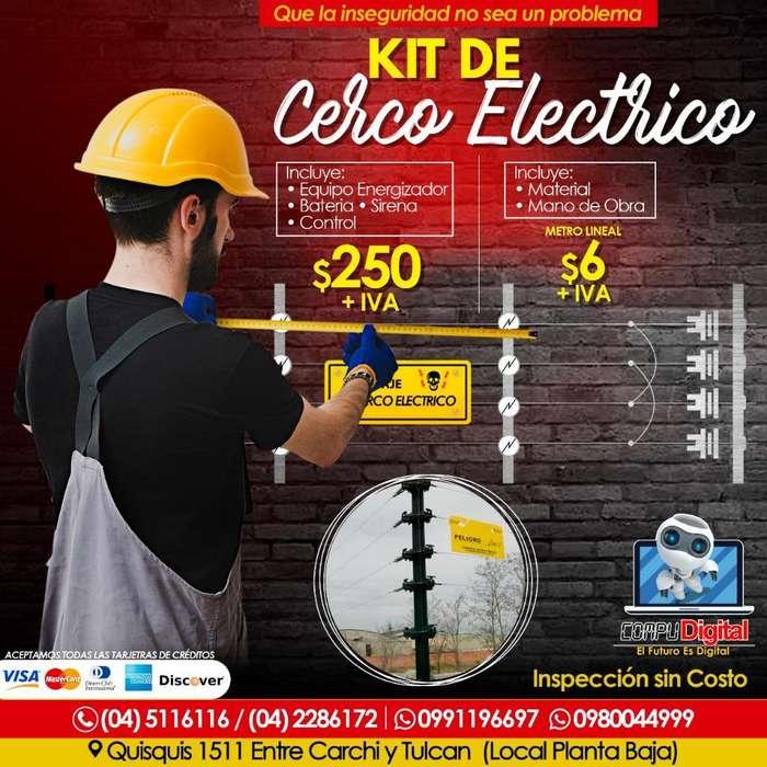 Cerco Electrico, Camara, Venta, Garantia