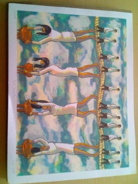Serigrafia de Artista Luz Letts