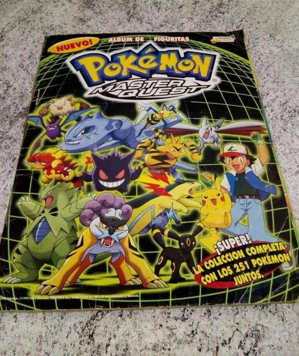 Album de figuritas COMPLETO!!!! Pokemon Master Quest