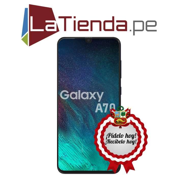 Samsung Galaxy A70 - 128GB de almacenamiento interno