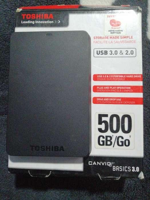 Se Vende Disco Duro Toshiba 500 Gb