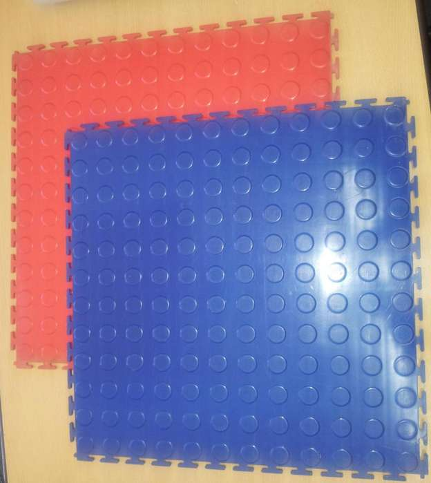 Placas encastrables y de piso pvc 45x45 cm