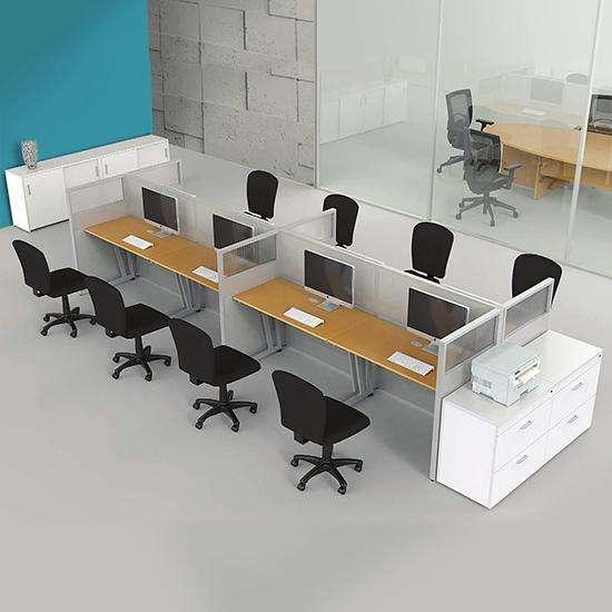 Modulos De Melamina Para Oficina Negocios Y Oficinas