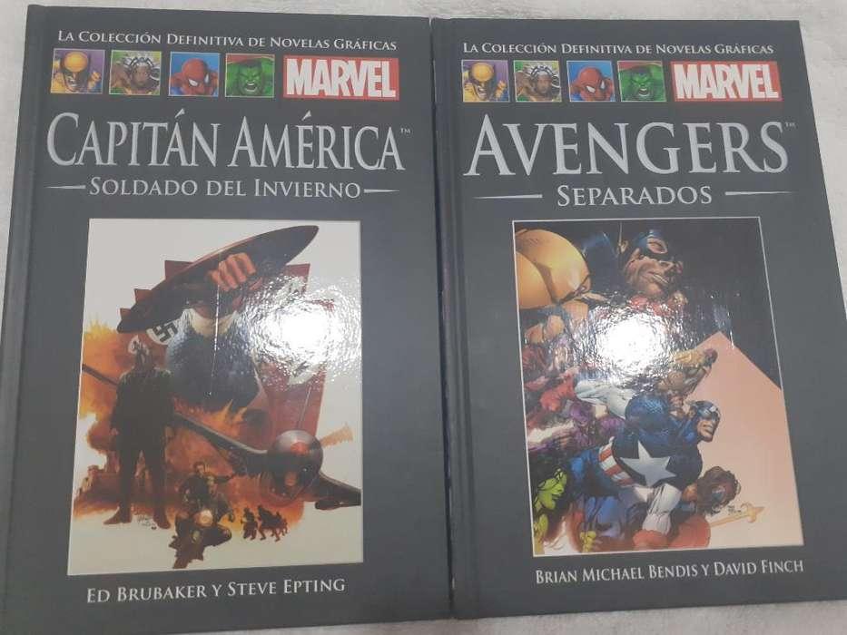 Coleccion de 6 Libros de Comics Marvel