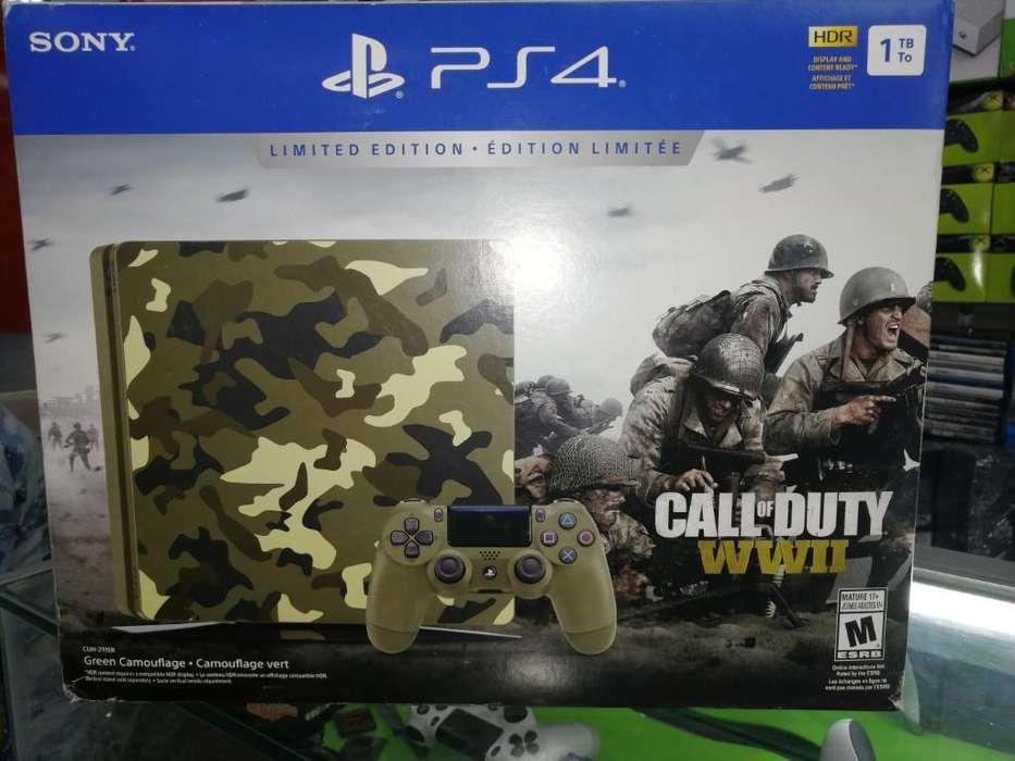 Ps4 Slim Edicion Especial Call Of Duty