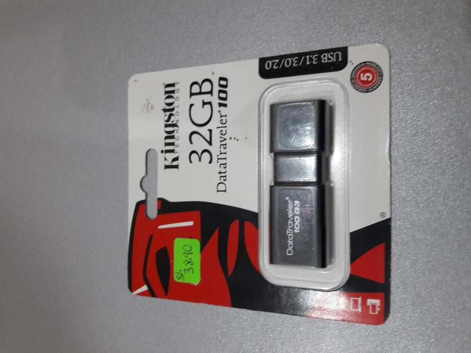 USB KINGSTON DE 32 GB
