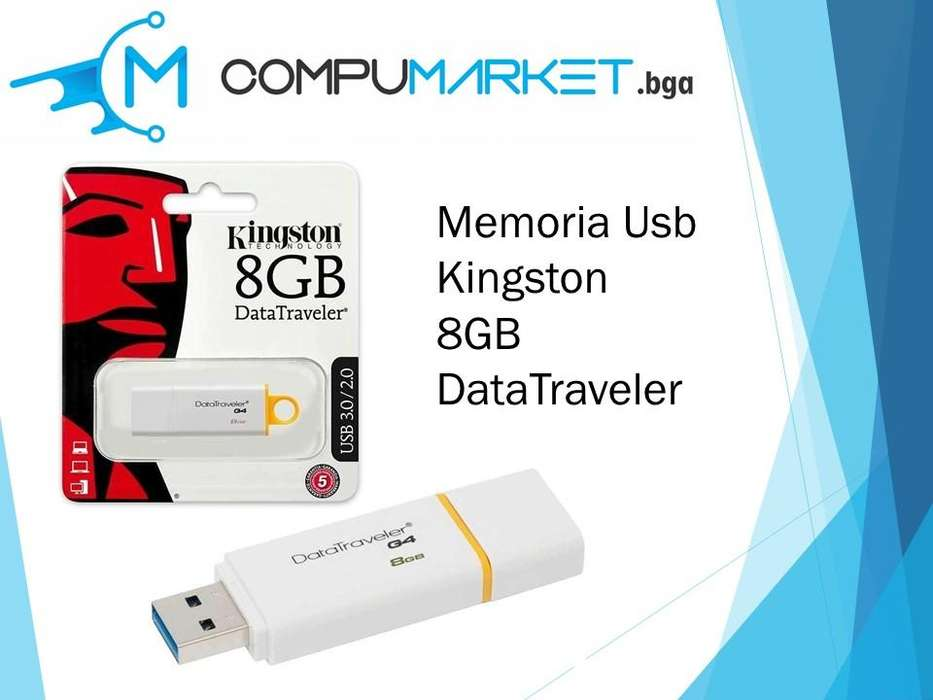 Memoria usb kingston 8gb datatraveler nuevo y facturado