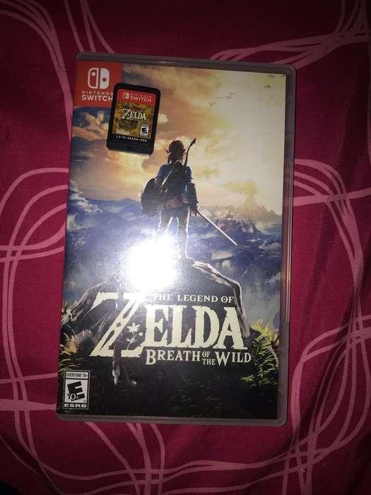 Se Vende Zelda Breath Of The Wild