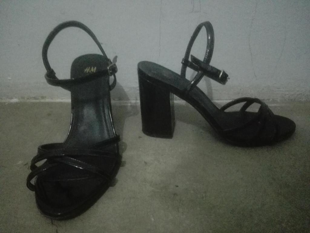 Sandalias de fiesta noche talla 39 HM