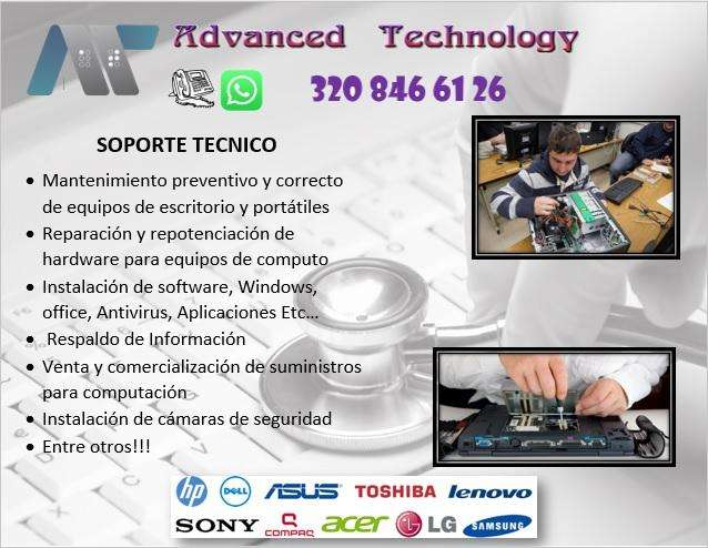 Reparación de computadores y portátiles Cel 3208466126 Reparación de pc a Domicilio Bogota, Formateo Computadores
