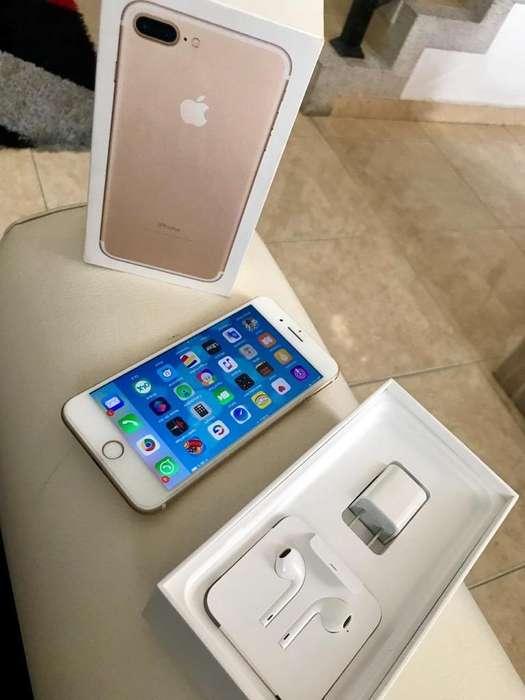 iPhone 7 Plus con Caja Y Accesorios Orig