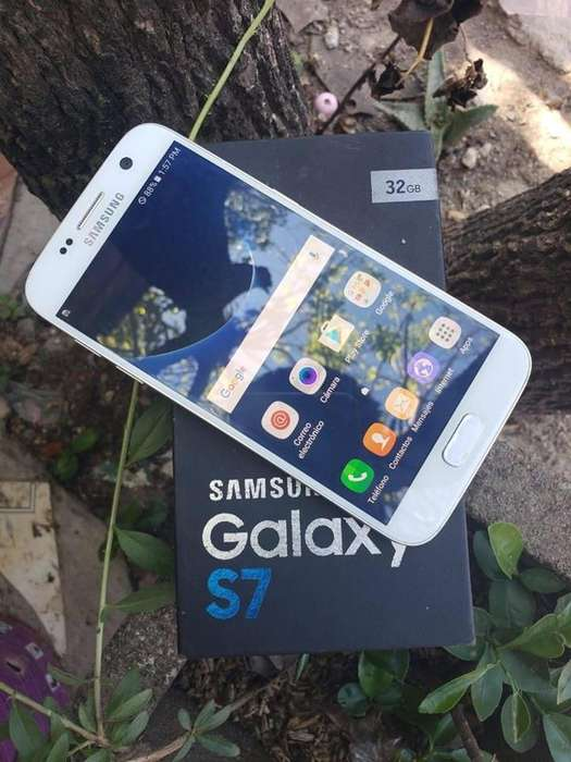 Galaxy S7 Flat 32gb Impecable para personal
